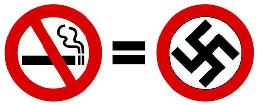 Nazi No Smoking sign