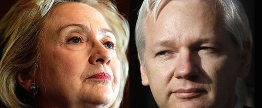 killary and assange
