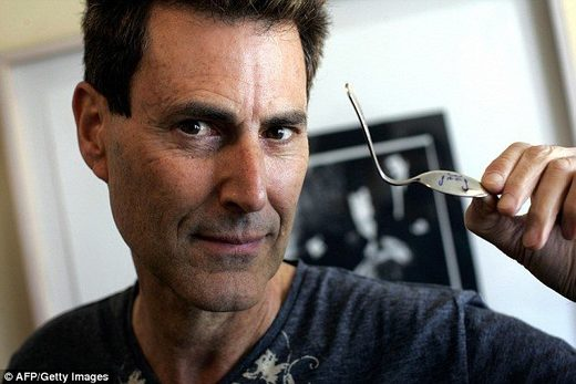 Did a UFO give Uri Geller his supernatural abilities?