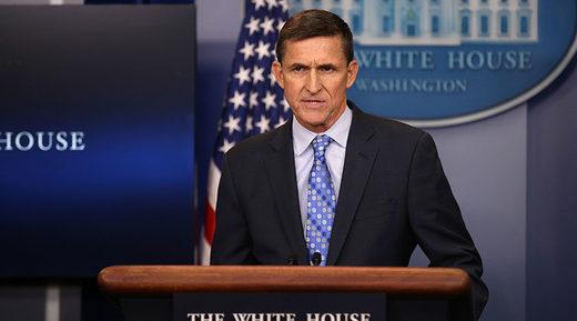 """© Carlos Barria / Reuters – """"Przybyłem, zobaczyłem, Iran"""". Generał Michael Flynn, doradca ds. bezpieczeństwa, powinien wziąć na wstrzymanie."""