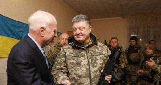 Mad Dogs John McCain and Lindsey Graham visited Donbass frontlines ahead of current bout of fighting, told Ukrainians to go on offensive