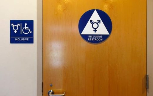 transgender inclusive bathroom restroom
