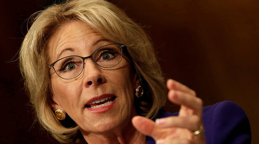 Education Secretary Betsy DeVos kicks off emotional battle over campus sexual assault rules