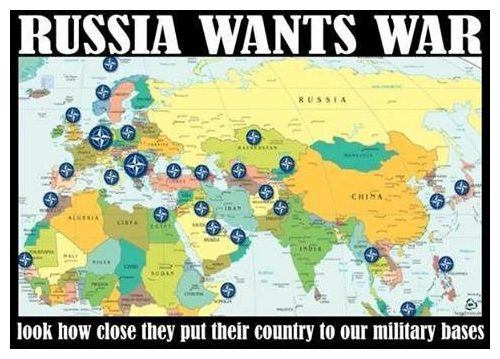 Conclusive Proof That Russia And Iran Want War Dont Panic - Map of us bases around iran