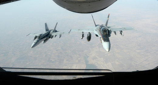 US not coordinating with Russia on Daesh airstrikes in Syria