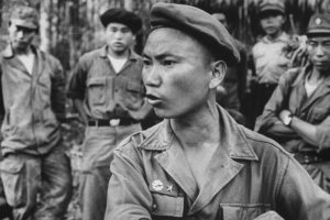 Hmong warlord Vang Pao who led the tribal army under the direction of the CIA until 1975