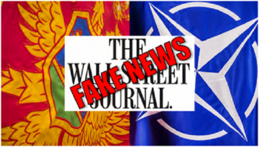 Fake news Wall Strret Journal graohic