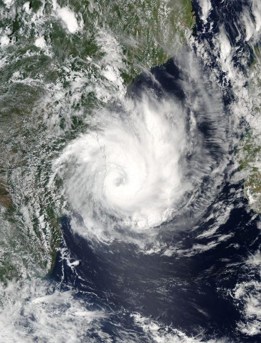 Tropical Cyclone Dineo leaves 4 dead in Mozambique