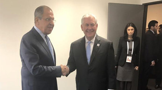 'Productive' first meeting: Lavrov and Tillerson discuss Syria and Ukraine, but not sanctions