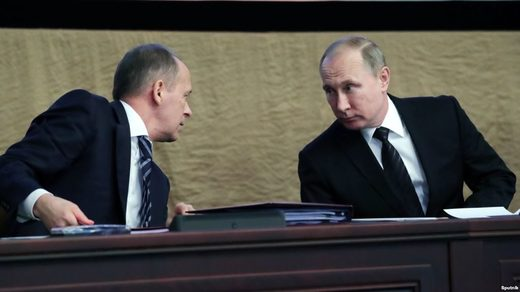 Putin says Russian and U.S. intelligence agencies should restore ties to better fight terrorism