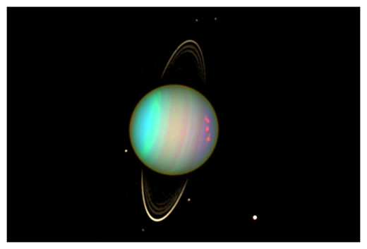 Asteroid orbiting Uranus