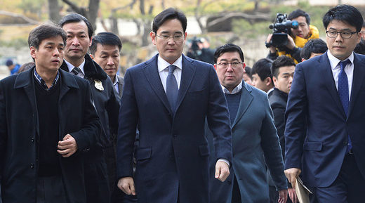 Samsung chief arrested amid widening South Korea corruption scandal