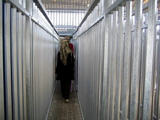 Israel apartheid checkpoint