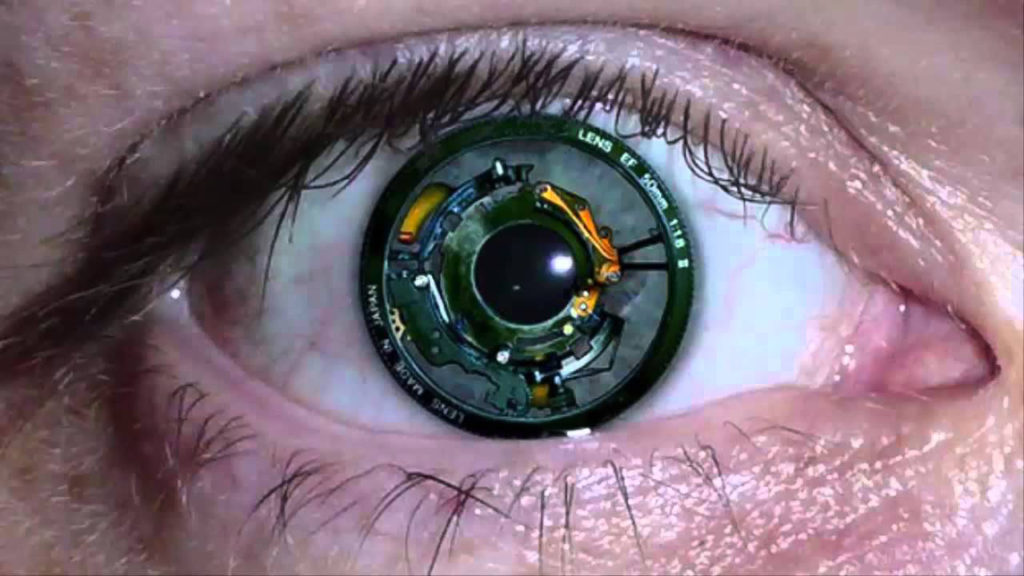 Sony Patents Contact Lenses That Take Pictures And Record