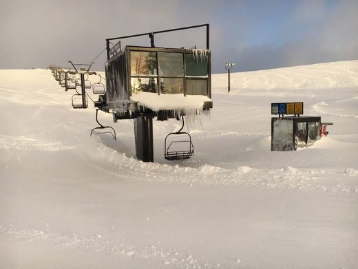 52 feet (16 meters) of snow and counting: California's record-breaking snowfalls continue