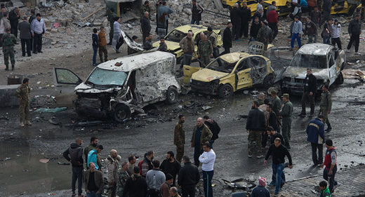 35 people killed, dozens injured as bombers attack military facilities in Homs, Syria