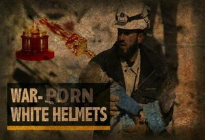 White Helmets graphic 'war-porn'