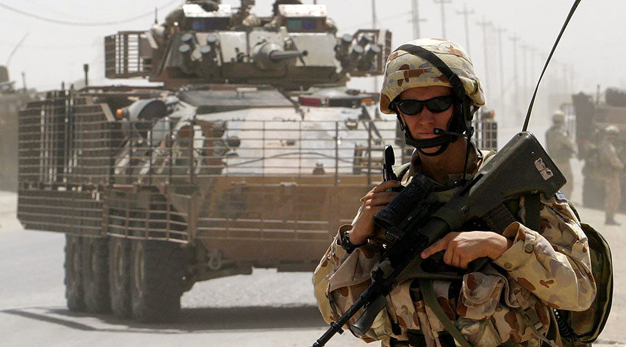 Declassified Army Paper Australia Only Joined 2003 Iraq