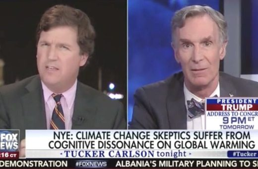 Tucker Carlson, Bill Nye
