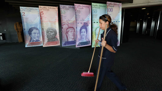 US meddling takes its toll as Venezuelan cash reserves reach 'catastrophic low'