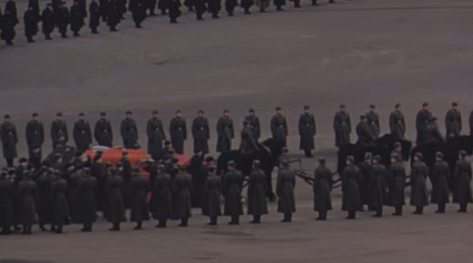 Unique, uncensored color footage of Stalin's funeral shot by US diplomat unearthed
