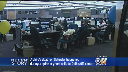 Dallas 911 system ghost calls