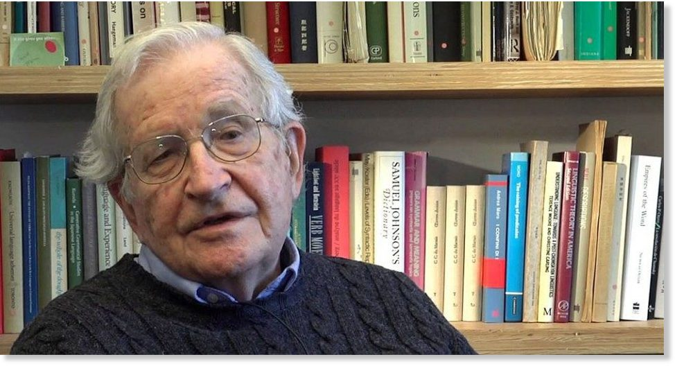 a summary of noam chomskys view of the media Is noam chomsky correct regarding his views on education noam chomsky: what is you view on indian media houses noam chomsky: how would you summarise your views on politics.