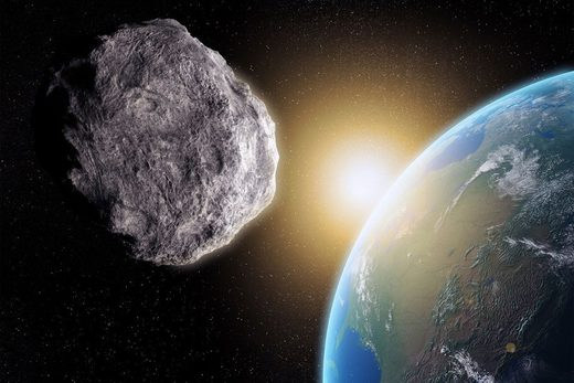 Another giant asteroid is about to brush by Earth on St. Patrick's day