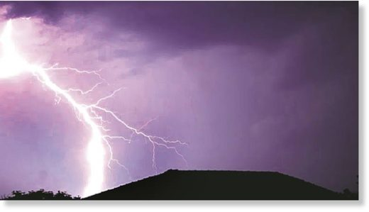 Lightning strikes on March 15 over Marathwada followed by similar incident over Vidarbha, claimed lives of at least six people and damaged standing crops over this region.