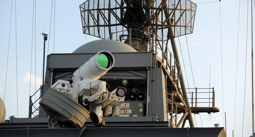US laser weapon