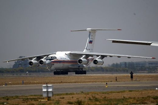 The Il-76 aircraft