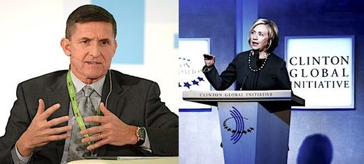Flynn's RT case: HRC took huge fees from foreign governments, what about that?
