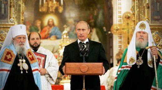 Putin speech Church Russian Christian orthodox