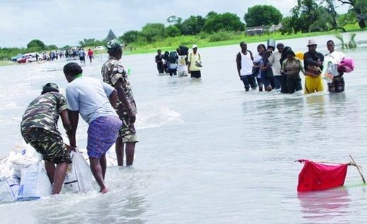 70 dead after worst flooding ever in Namibia following on from the severest drought in 25 years