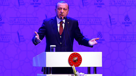 Erdogan refers EU countries Nazi's