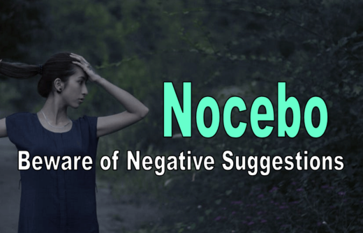 Nocebo: The evil twin of the placebo effect
