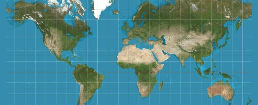 Boston's public schools have ditched this distorted and misleading world map - everyone else, take note