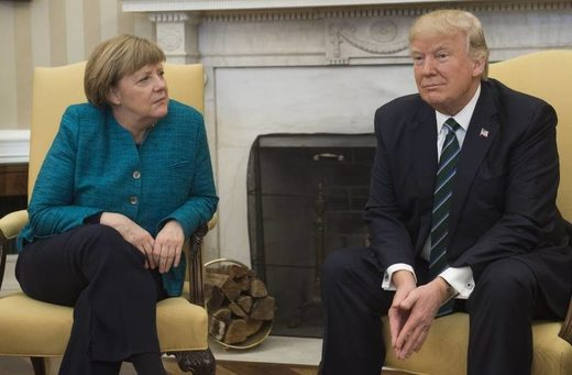 Donald Trump and Angela Merkel: An unhappy summit, a fraught future relationship