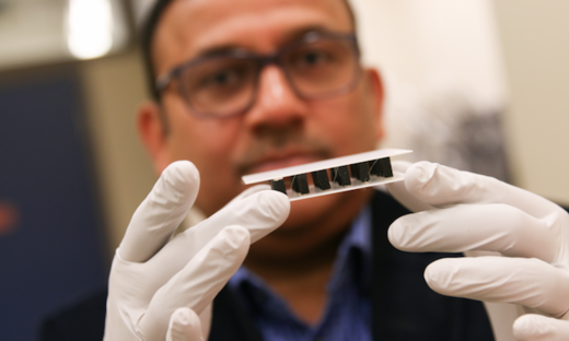bio-friendly material generates electricity