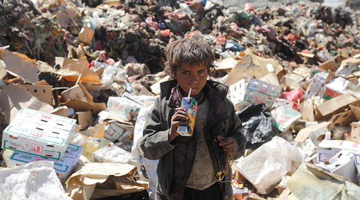 Yemen child kid famine starvation