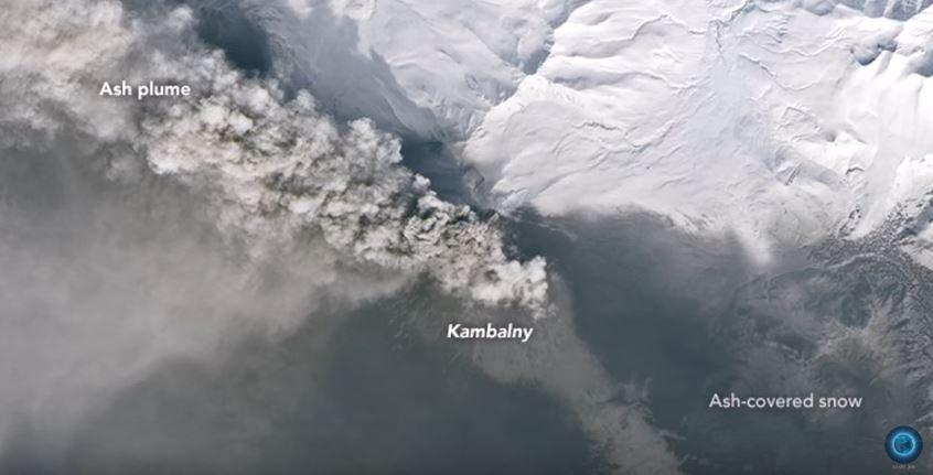 Kambalny Eruption Intensifies, Underwater Volcanic ...