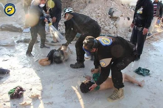 white helmets idlib chemical