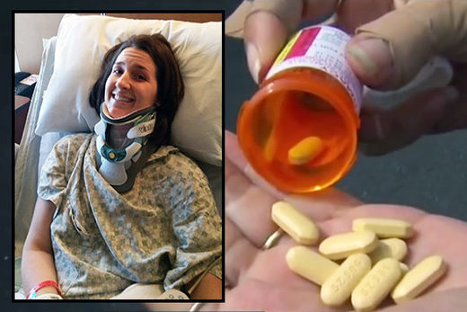 A woman had to undergo 20 surgeries to repair damage from fluoroquinolone antibiotics