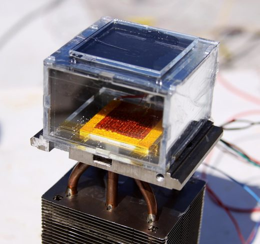solar powered water device
