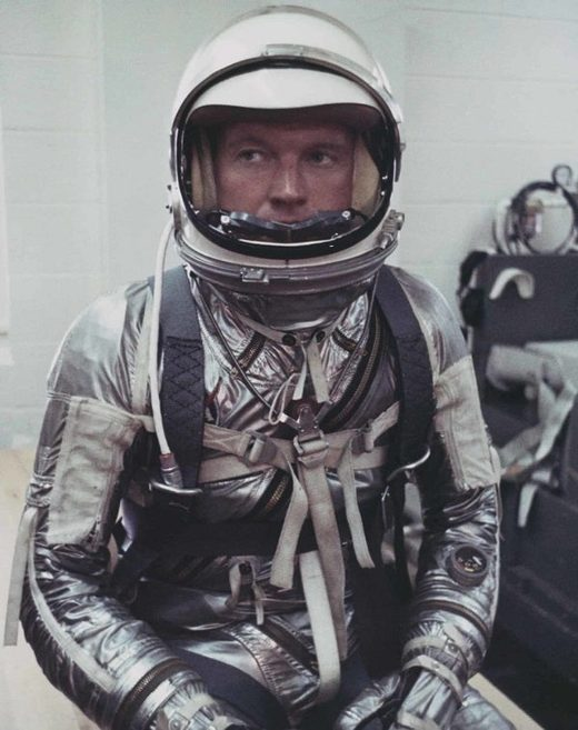 Gordon Cooper found sunken treasure from space and kept it secret until his deathbed