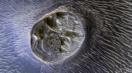 NASA's Reconnaissance Orbiter captures incredible new photo of Mars surface