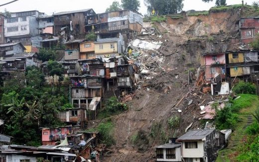 Second deadly landslide in a month rocks Colombia after a month's worth of rain overnight