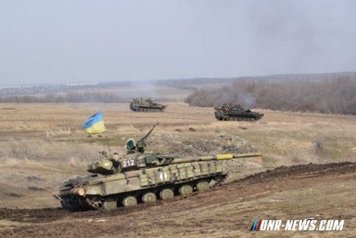 Large scale Ukraine attack on Donbass may be imminent