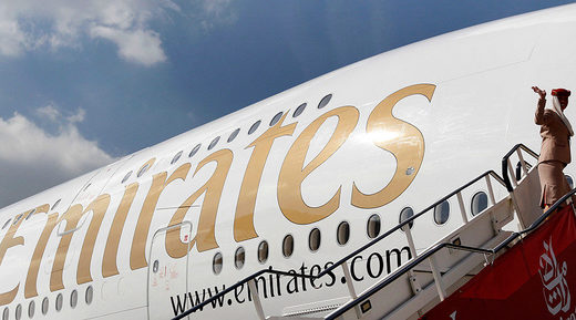 Airline Emirates cuts flights to US blaming Trump's restrictions for declining demand