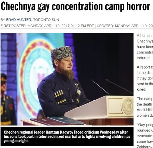 chechnya gay gulag